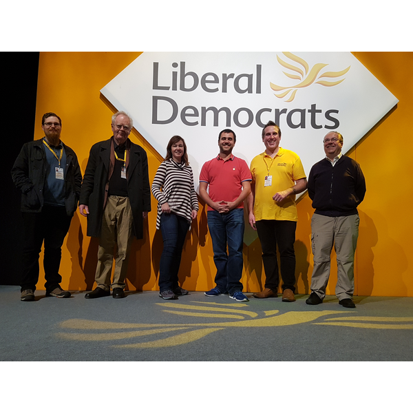 Southend and Chelmsford Lib Dems at Spring Conference 2017