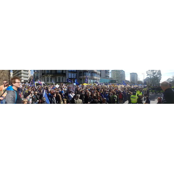 Panorama pre-march