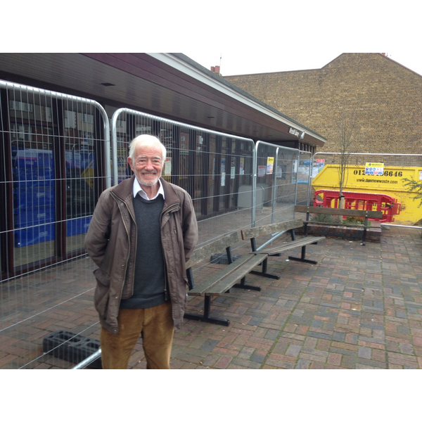 Campaigner Bob Howes - Delighted to see Council is investing in library which was threatened with closure.
