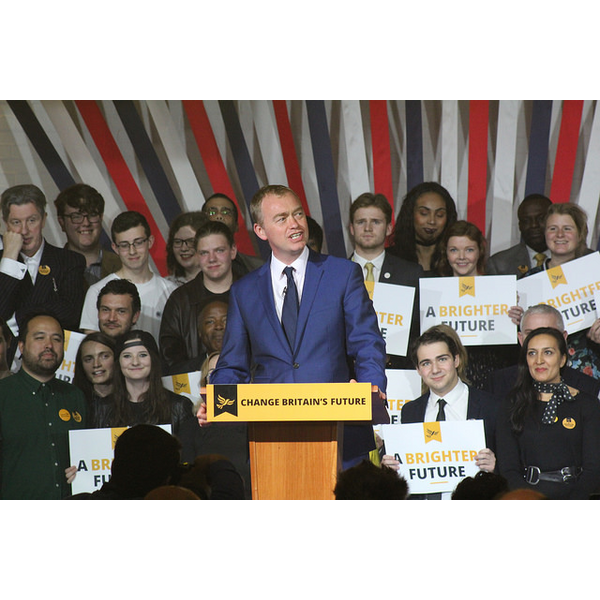 Tim Farron manifesto launch2