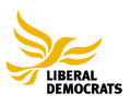 Lib Dem logo, colour on transparent background