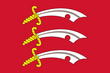 Flag of Essex (By Greentubing - https://commons.wikimedia.org/w/index.php?curid=590292)