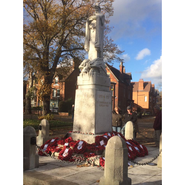 Remembrance Sunday in Bedford