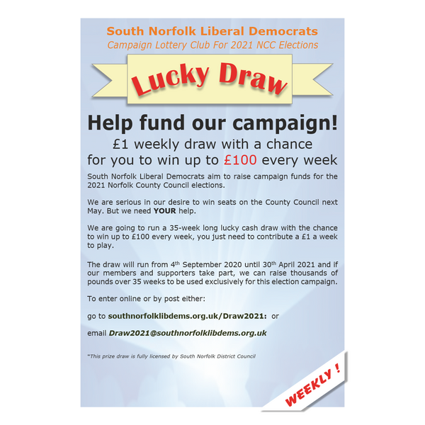 SNLD Campaign Lottery Club