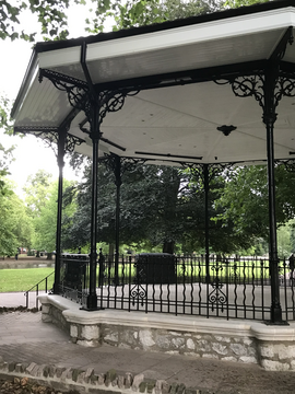 Bandstand at Mills Meadows
