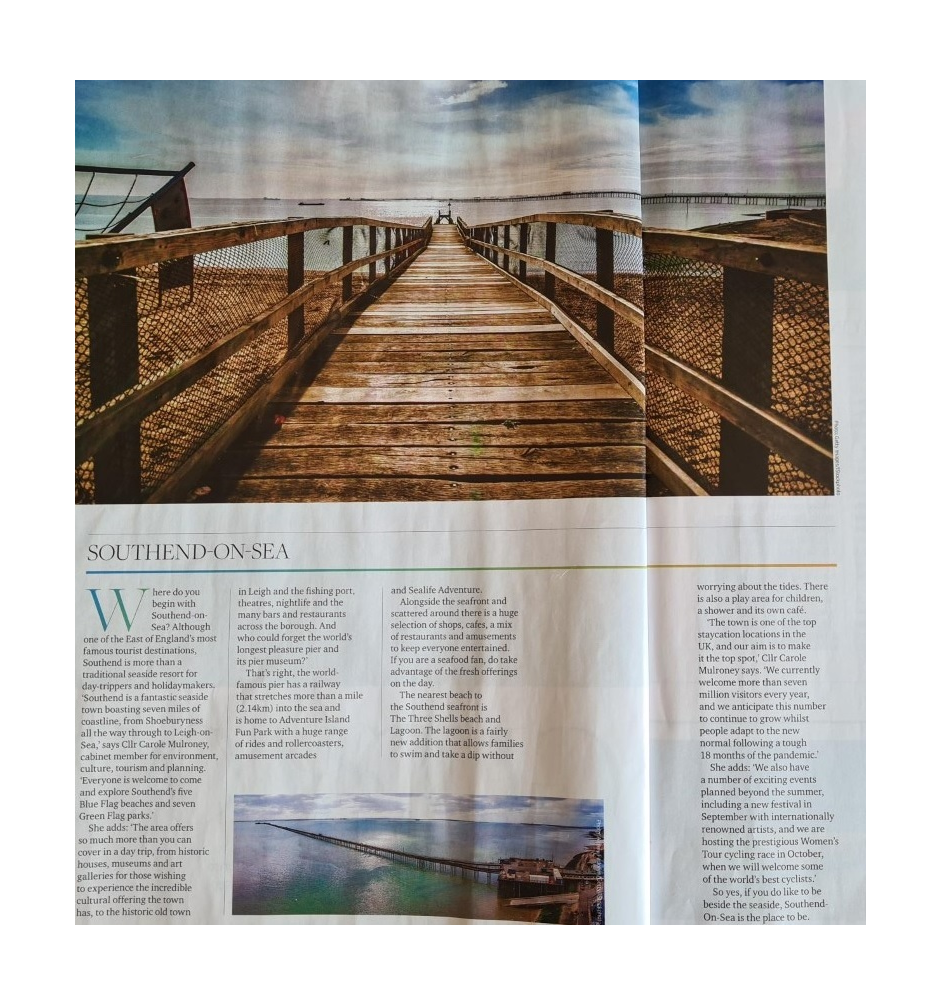 Essex Life article August 2021 ()