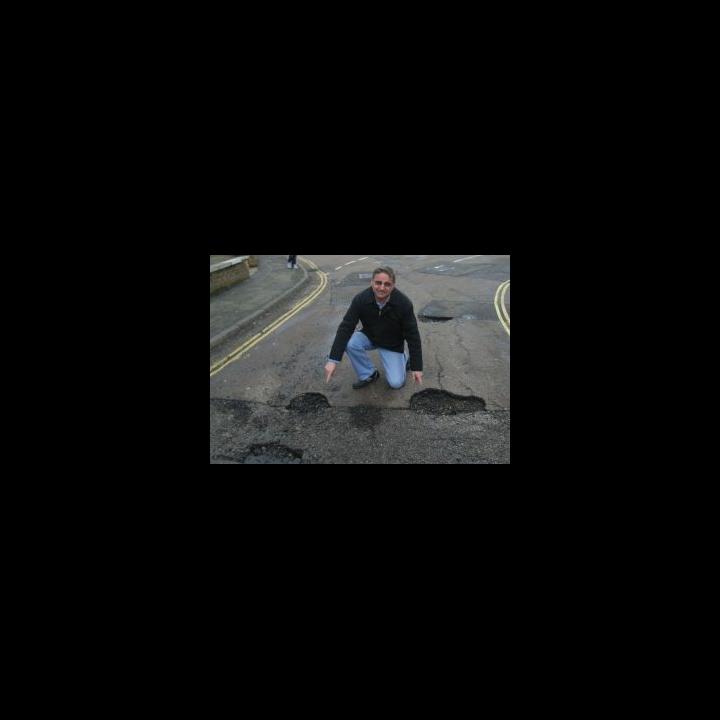 Cllr Douglas McCall Potholes