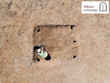 Anglo-Saxon building being investigated at Biddenham
